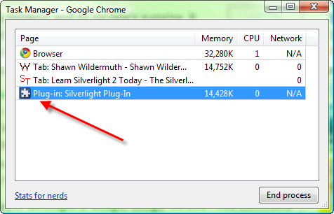Silverlight 2 in Google Chrome