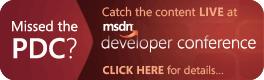 MSDN DevCon