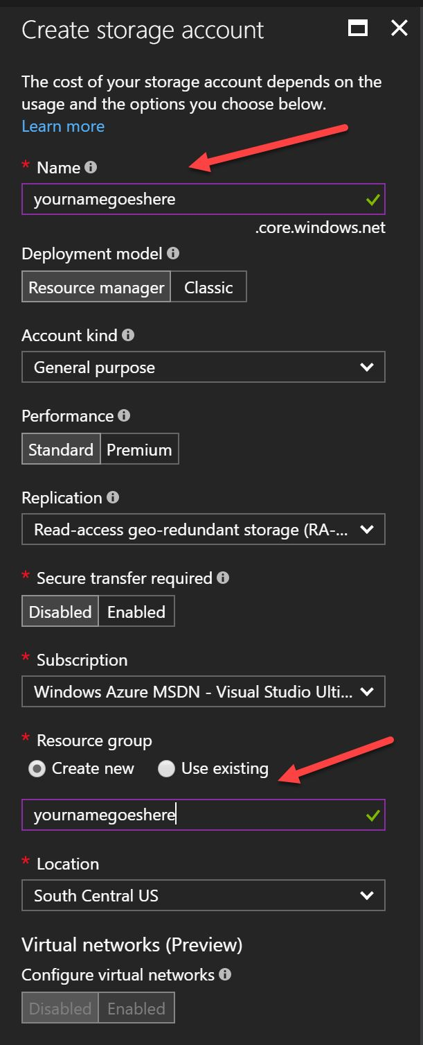 Using Azure Storage in ASP NET Core - Shawn Wildermuth