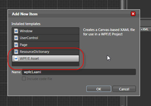 Wpf e item template for expression blend shawn wildermuth for Wpf templates free download
